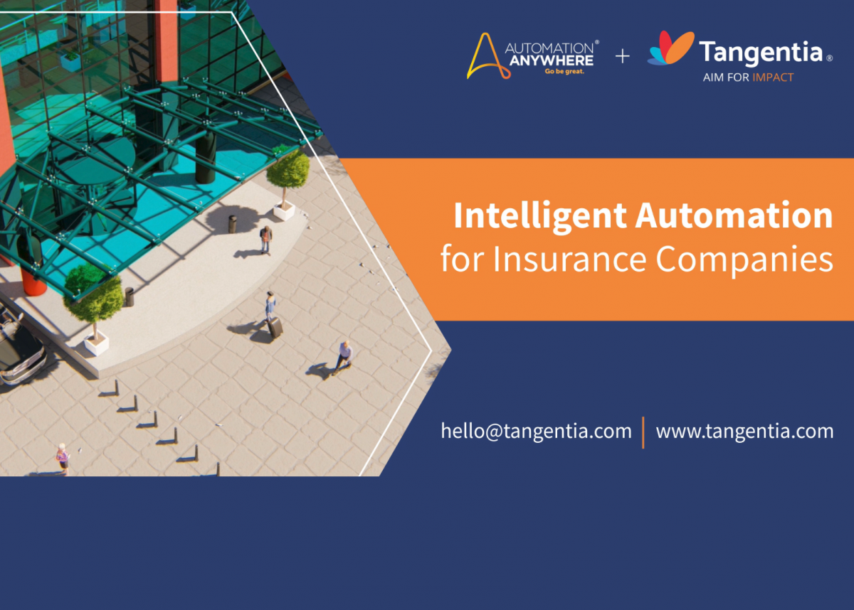Tangentia Videos – Intelligent Automation for the Insurance Industry