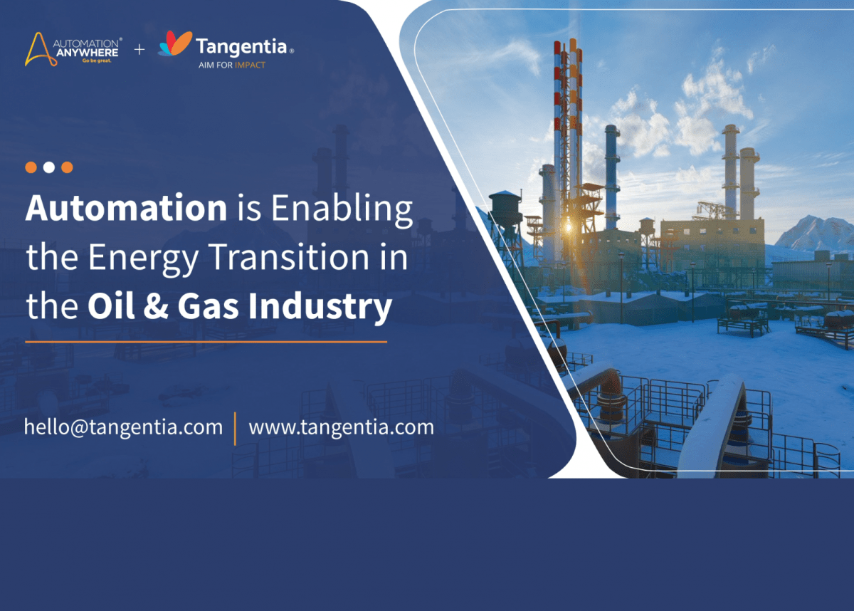 Tangentia Videos – Intelligent Automation for the Oil & Gas Industry