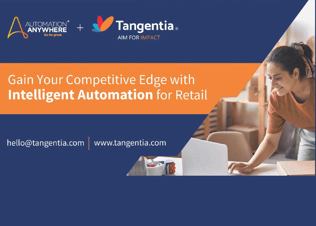 Tangentia Videos – Intelligent Automation for Retail
